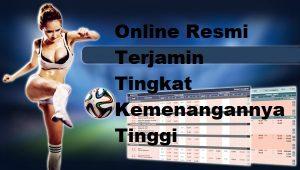 Di Agen Bola Online Resmi Terjamin Tingkat Kemenangannya Tinggi